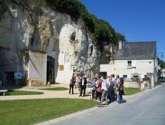 A visiter : village de Turquant