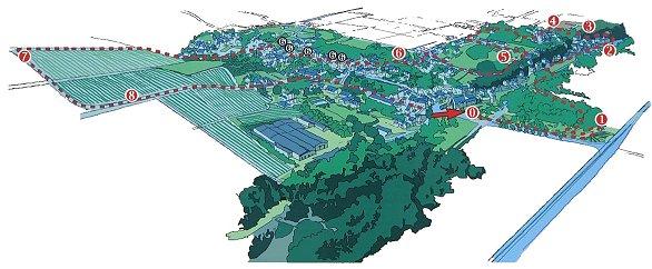 Parcours découverte : village de Turquant